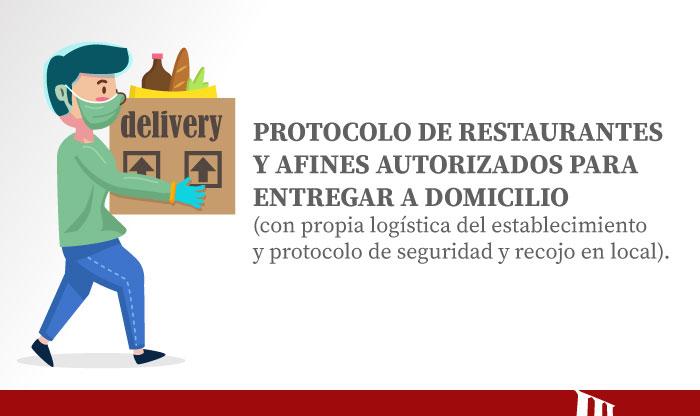 Conoce Los 7 Pasos Del Protocolo De Bioseguridad Para El Delivery Por Restaurantes Y Afines [INFOGRAFÍAS]