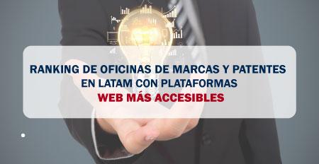 Ranking De Oficinas De Marcas Y Patentes En Latam Con Plataformas Web Más Accesibles